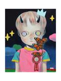 Children of This Planet 24 Giclée-Premiumdruck von Hikari Shimoda