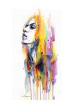 Sunshower Kunstdrucke von Agnes Cecile