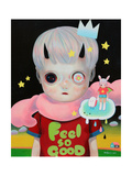 Children of This Planet 17 Giclée-Premiumdruck von Hikari Shimoda