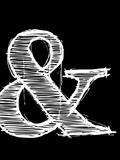 Ampersand 2 Muovikyltit tekijänä  NaxArt