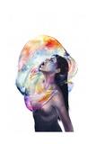 Apnea Poster von Agnes Cecile