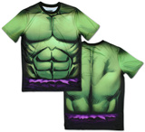 Incredible Hulk Sublimated Costume Tee T-skjorter