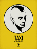 Taxi 1 Plastic Sign by Aron Stein