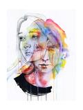 Girls Change Colors Posters af Agnes Cecile