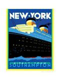 Streamliner NY Posters af Brian James