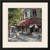 Mattina Terrace Poster by Brent Heighton
