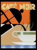Café noir Affiches par Brian James