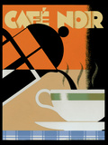 Cafe Noir Kunstdrucke von Brian James