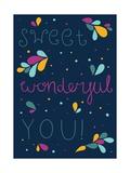 Sweet Wonderful You Giclée-Premiumdruck von Susan Claire