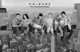 Friends- Lunch On A Skyscraper Posters
