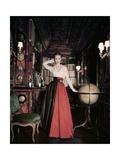 Vogue - May 1951 Photographic Print by John Rawlings