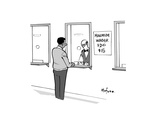 Minimum Wager - Cartoon Premium Giclee Print by Kaamran Hafeez