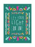 Love Shine Giclée-Premiumdruck von Susan Claire