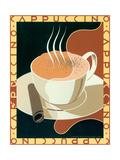 Cappuccino Poster af Brian James