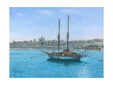 Hera Ii Valletta Malta Art by Richard Harpum