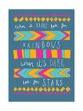 When it Rains Giclée-Premiumdruck von Susan Claire