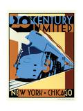 NY to Chicago Kunst af Brian James