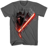 Youth: Star Wars The Force Awakens- Kylo Cut Skjorter