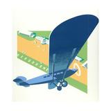Aerodrome Plakat af Brian James