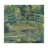 Waterlily Pond, 1899 Giclee Print by Claude Monet