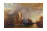Ulysses Deriding Polyphemus, 1829 Giclée-tryk af J. M. W. Turner