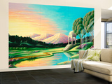 Meditation 12 Wall Mural – Large by Andy Russell