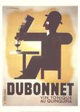Dubonnet (Small) Lámina coleccionable por A.M. Cassandre