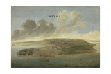 Dutch East India Company Trading Post of Banda Neira in the Southern Moluccas, C.1662-3 Giclée-Druck von David Vinckboons