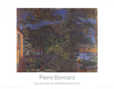 La Terasse Pósters por Pierre Bonnard
