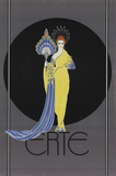 Goddess in Yellow Samlertryk af  Erte