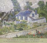 Houses At Auvers Samlertryk af Vincent van Gogh