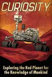 Mars Curiosity Rover Poster von  Lynx Art Collection