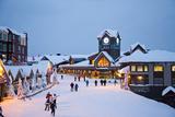 The Main Village at Big White Ski Resort in Kelowna, British Columbia, Canada Photographic Print by Michael Hanson