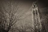 Yale University's Gothic Harkness Tower Fotografisk tryk af Kike Calvo