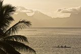 The Island of Mo'Orea as Seen from Tahiti Photographic Print by Mauricio Handler