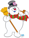 Frosty The Snowman Lifesize Standup Cardboard Cutouts
