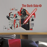 Star Wars Classic Darth Vader Peel & Stick Wall Graphic Decalcomania da muro
