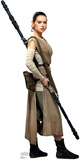 Rey - Star Wars VII: The Force Awakens Lifesize Standup Cardboard Cutouts