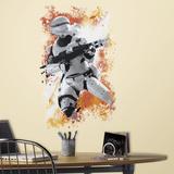 Star Wars: Ep VII Flametrooper Peel & Stick Wall Graphic Muursticker