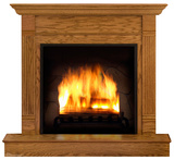 Fireplace Lifesize Standup Cardboard Cutouts