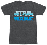 Star Wars The Force Awakens- Blue Shift Logo T-Shirt