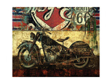 Bike Route 66 II Posters av Eric Yang