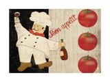 Bon Appetit Chef Art by Piper Ballantyne