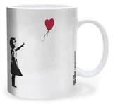 Banksy Balloon Girl Mug Mug