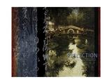 Reflexion Giclée-Premiumdruck von Eric Yang