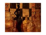 Woman of Culture Premium gicléedruk van Eric Yang