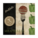 Big Night Out - Meatballs Prints by Piper Ballantyne