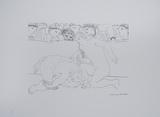 Minotauro Vencido Posters por Pablo Picasso