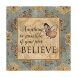Just Believe Posters par Piper Ballantyne