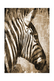 African Animals II - Sepia Print by Eric Yang